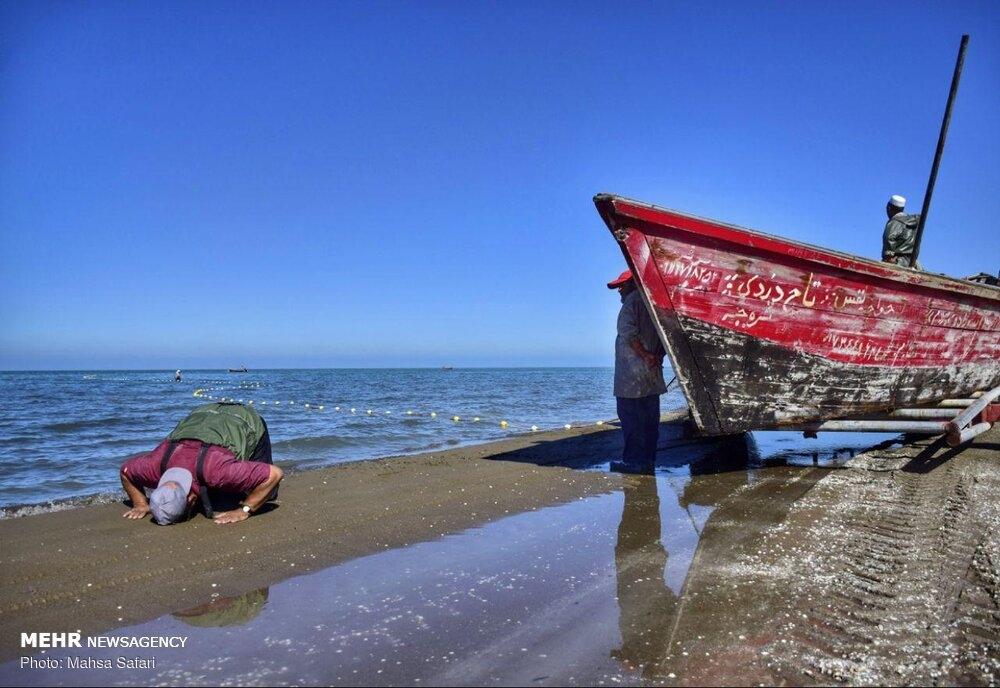 Fishing season begins in the Caspian Sea gallery image 21