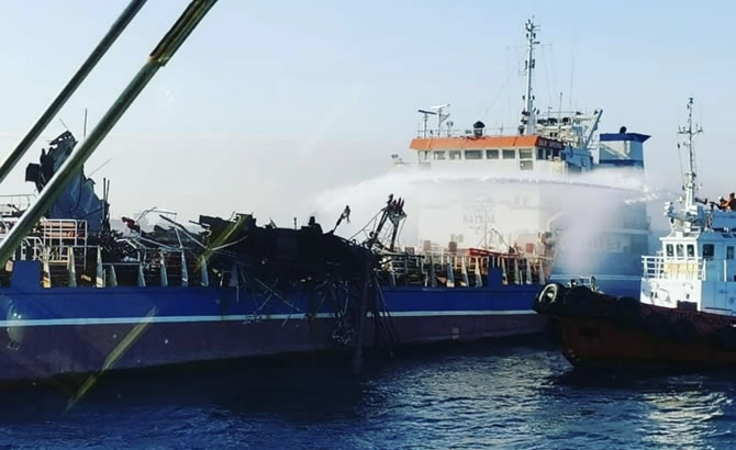 Russian Tanker Damaged by Deadly Gas Explosion Released gallery image 2