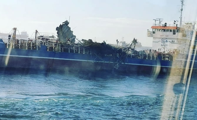 Russian Tanker Damaged by Deadly Gas Explosion Released gallery image 3