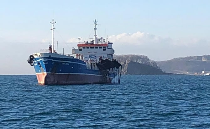 Russian Tanker Damaged by Deadly Gas Explosion Released gallery image 4