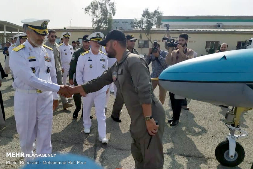 Simorgh drone joining Iran's Navy gallery image 5