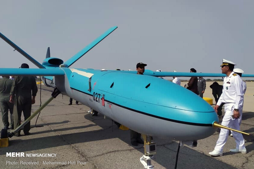 Simorgh drone joining Iran's Navy gallery image 6