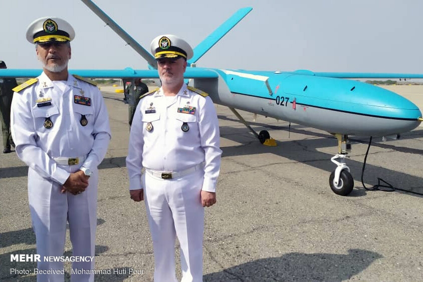 Simorgh drone joining Iran's Navy gallery image 7