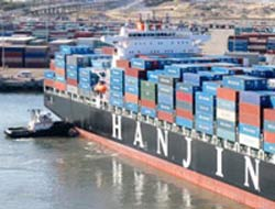 Hanjin launches KJ feeder service