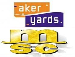 Aker yards signed contract for MSC