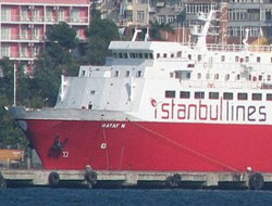 Hayat-N sank in Bandirma Port
