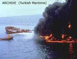 Icebreaker ablaze 296 rescued