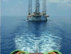 Jack-up rig Naga 3 was towed