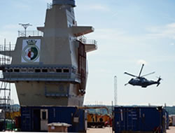 Briyain's tallest warship