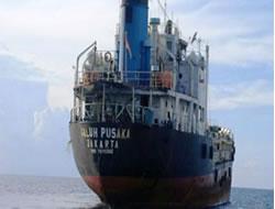 Tanker was found unattended