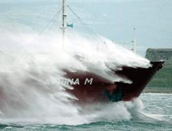 Storm in Marmara