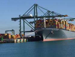 Strong container shipping