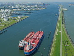 Rotterdam port is under control