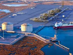 LNG export barrier cut