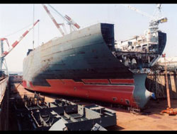 NK shipyard to build 4 barges