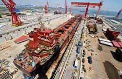 Chinese yards handling majority