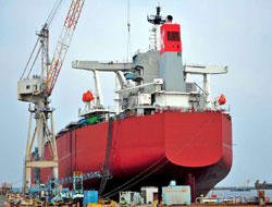 Threat on Asia Shipyards
