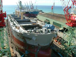 Largest vessel on the way