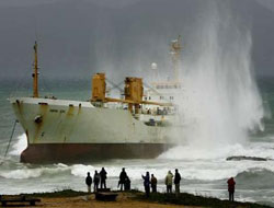 Shipping accidents decreased