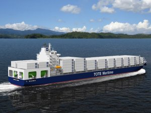 TOTE Finds Fuel Suppliers for First LNG Container Ships