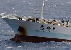 Pirates release the vessel Tianyu