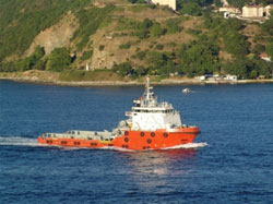 Supply vessel from GSP