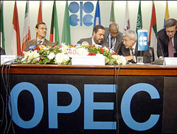 OPEC decides about crude output