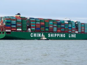 VIDEO: CSCL Globe in All Its Glory