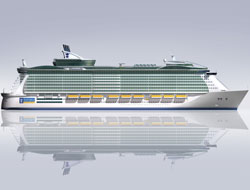 Giant cruise laid