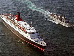 HMS Lancaster escorts