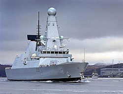 Clyde base gets Type 45 visitor