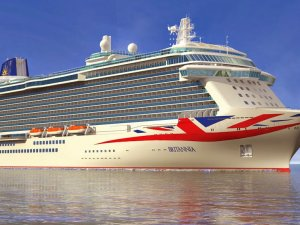 Interactive Tour: Britain's Biggest Cruise Ship