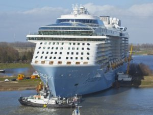 VIDEO: Anthem of the Seas Reaches Open Sea