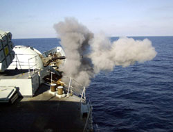 Naval forces against pirates