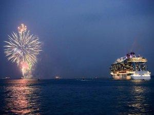Britannia Starts Maiden Voyage