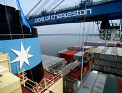 Maersk leaves Charleston Port