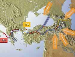Greece-Turkey new gas pipeline
