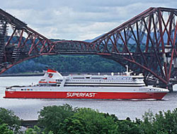 Direct sailings from Scotland