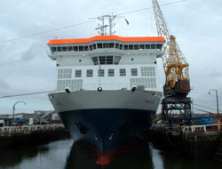 Vessel goes into drydock