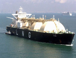 LNG shipping projects in Russia