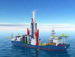 Ice-class drillship financed