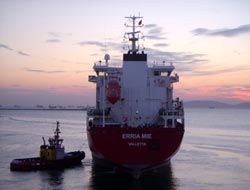 9 chemical tankers for Erria