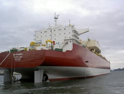 LNG carrier chartered on long term