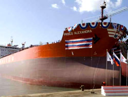 STX launches new tanker