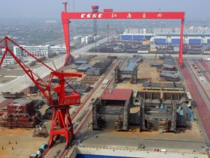 CSCL Places USD 934 Million Order for Eight 13,500 TEU Boxships