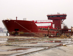 Shipyards had faced bankruptcy