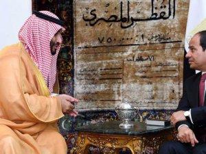 Egypt and Saudi Arabia define the maritime borders