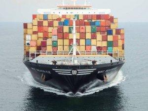 MSC Zoe docks in Hamburg.
