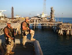 Oil terminals are safer in Iraq