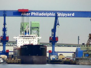 Kinder Morgan Buys Four Newbuilding Resales from Philly Tankers